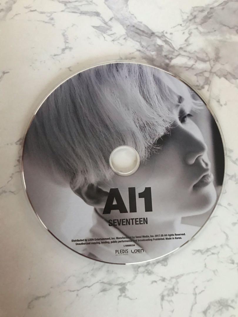 WTS Seventeen AL1 CD Plate and Postcard