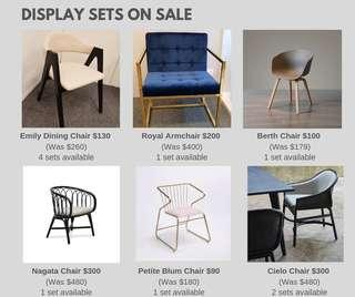 CHAIRS ON SALE