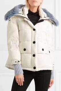 Moncler女裝羽絨外套(毛領可拆)