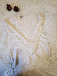Aritzia Babaton Cable Knit Sweater