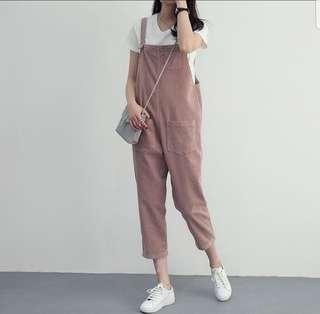 Korean Cropped Jumpsuit