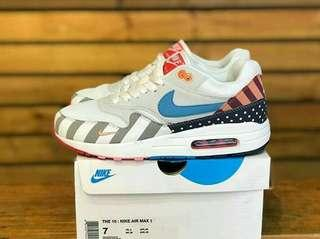 NIKE AIR MAX 1 PARRA WHITE / MULTICOLOR
