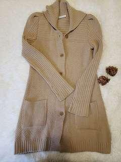 See By Chloe Long Knit Cardigan Sweater