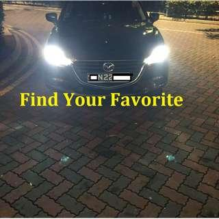 Mazda 3 2017 model on H11 S2 BRAND COB LED 6500k headlight super white cash&carry only without installation