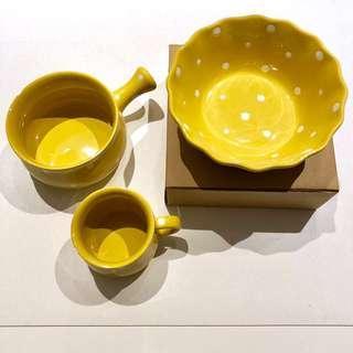 Bowl, Mug & Pot Set (BN)
