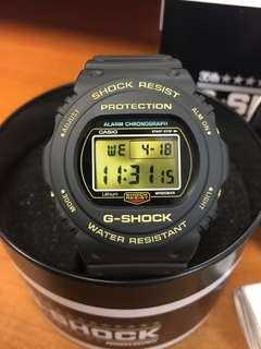 Casio G-Shock Origin Gold Series 35th Anniversary Limited Edition DW5700 Watch