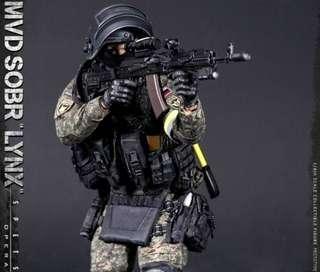 *PO* Damtoys 78058 Russian Spetsnaz MVD SOBR Lynx
