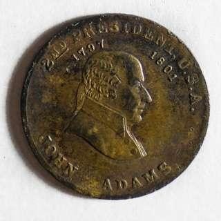 John Adams Commemorative Token