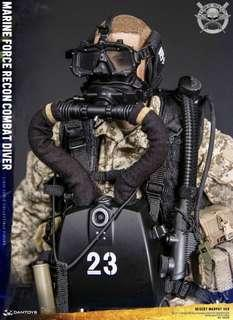 *PO* Damtoys 78056 Marine Force Recon Combat Diver Desert Marpat Version