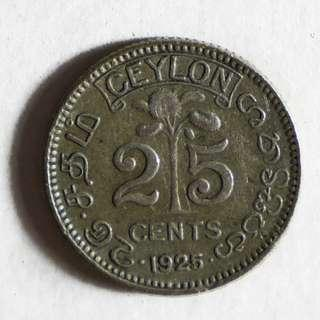 25 Cents - George V