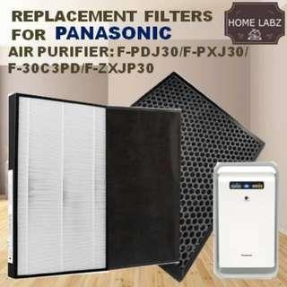 Compatible Filter for  F-PDJ30/F-PXJ30A/F-30C3PD/F-ZXJP30 . Filter Set:F-ZXPJ30