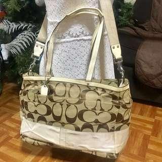 Original COACH two-way bag (large size)