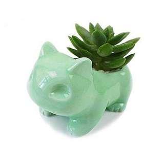 Pot: Ceramic Bulbasaur Planter Pot