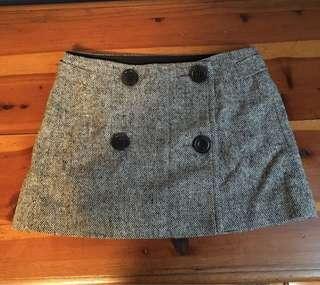 Adorable Wool Mini Skirt