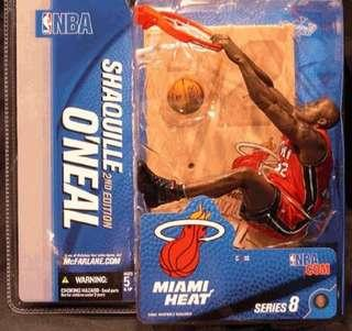 Mcfarlane Shaquille O'Neal series 8