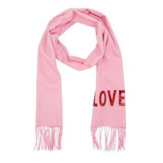 Scarf GUCCI pink LOVED