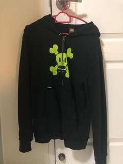 Paul frank black hoodie