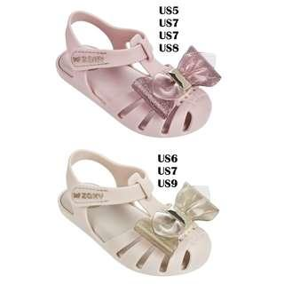 Zaxy Glamour Baby Pink & Beige US5 US6 US7 US8 US9