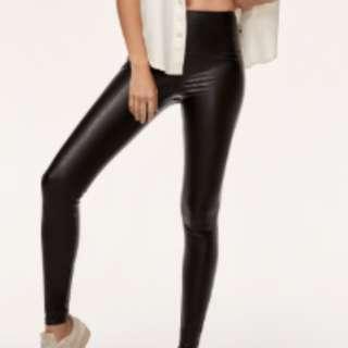 Aritizia leather leggings