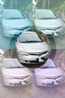 Honda CIVIC. BOOK @ 81448811 / 81448822 / 81448833