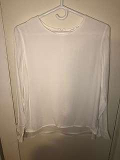 Violet and Claire winners silk top size small