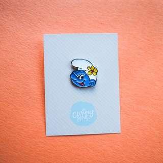 Smurf Pin