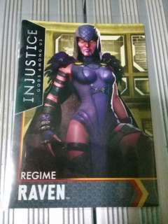 Injustice Cards Singles