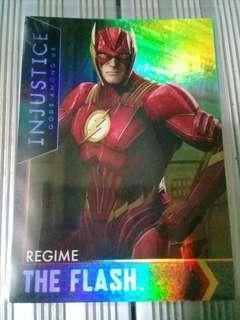 The Flash Regime HoloFoil Injustice Card