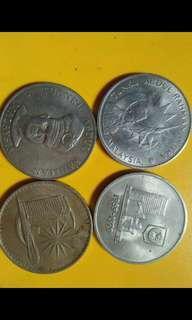 Uang koin kuno malaysia