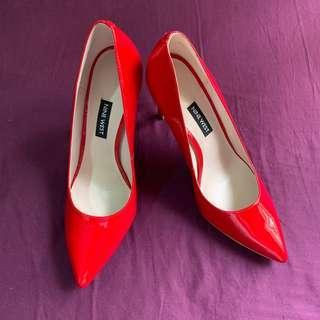 Brand New Nine West Red Heels Size 7.5