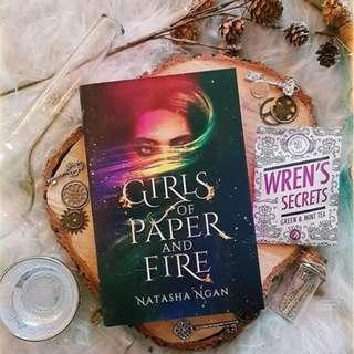 [Exclusive and Signed] Girls of Paper and Fire by Natasha Ngan (Fairyloot exclusive)
