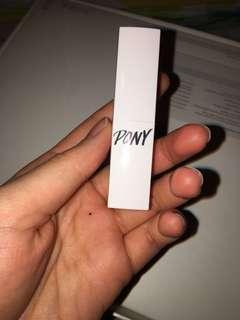 Pony lipstick