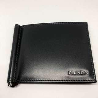 7cc15655803f Brand new & unused Prada Men's Leather Vitello Wallet - Nero Black Moneyclip