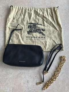 Burberry Clutch with Sling options