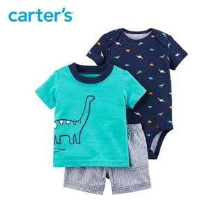 Carters Set , Boys dinosaur theme