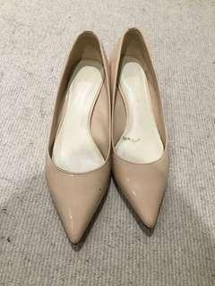 Crystal heels size 37