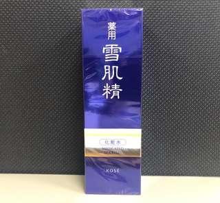 🚚 🤫限時特價➕全新日本KOSE高絲雪肌精化妝水360ml