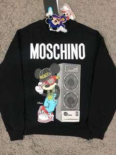 H&M x Moschino hoodies
