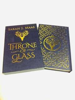 Throne of Glass (Deluxe US Collector's Edition) - Sarah J. Maas