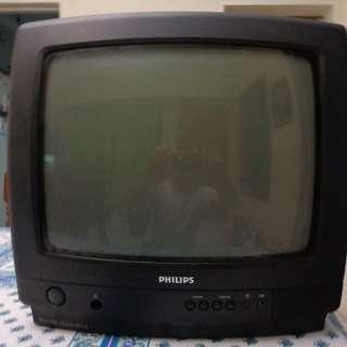 "(USED) Philips 14"" TV"