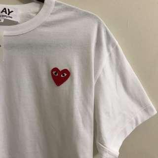 COMME DES GARÇONS white shirt