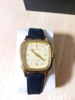 全新庫存停產八十年代手上鏈男裝錶