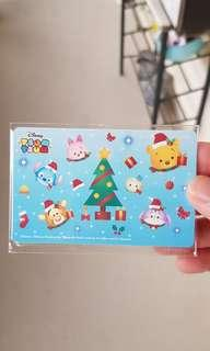 Limited Christmas Tsum Tsum design 2 ezlink