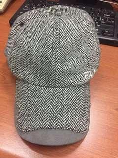 🚚 斐樂FILA 編織高爾夫球帽 保暖球帽