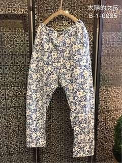 🚚 👭 私人愛典藏·褲子款·清新花布棉褲
