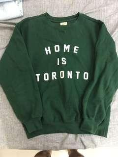 🚚 Peace Collective 多倫多 長袖 Home is Toronto Sweater