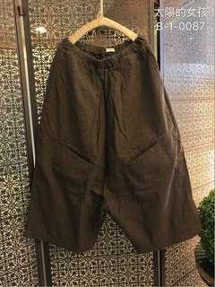 🚚 👭 私人愛典藏·褲子款·舒適七分毛褲