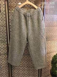 🚚 👭 私人愛典藏·褲子款·灰呢毛褲