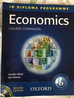 IB Economics Textbook with CD