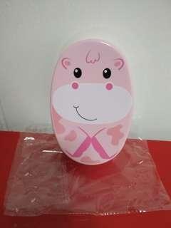 🚚 [WTT/WTS] Brand New Marigold Cute Animal Lunchbox. Sz Abt L6 x W4 x Depth 2.  PP5 material, 20-120 deg C,  microwave safe,  BPA Free. On Original Packaging.  See All Pics.